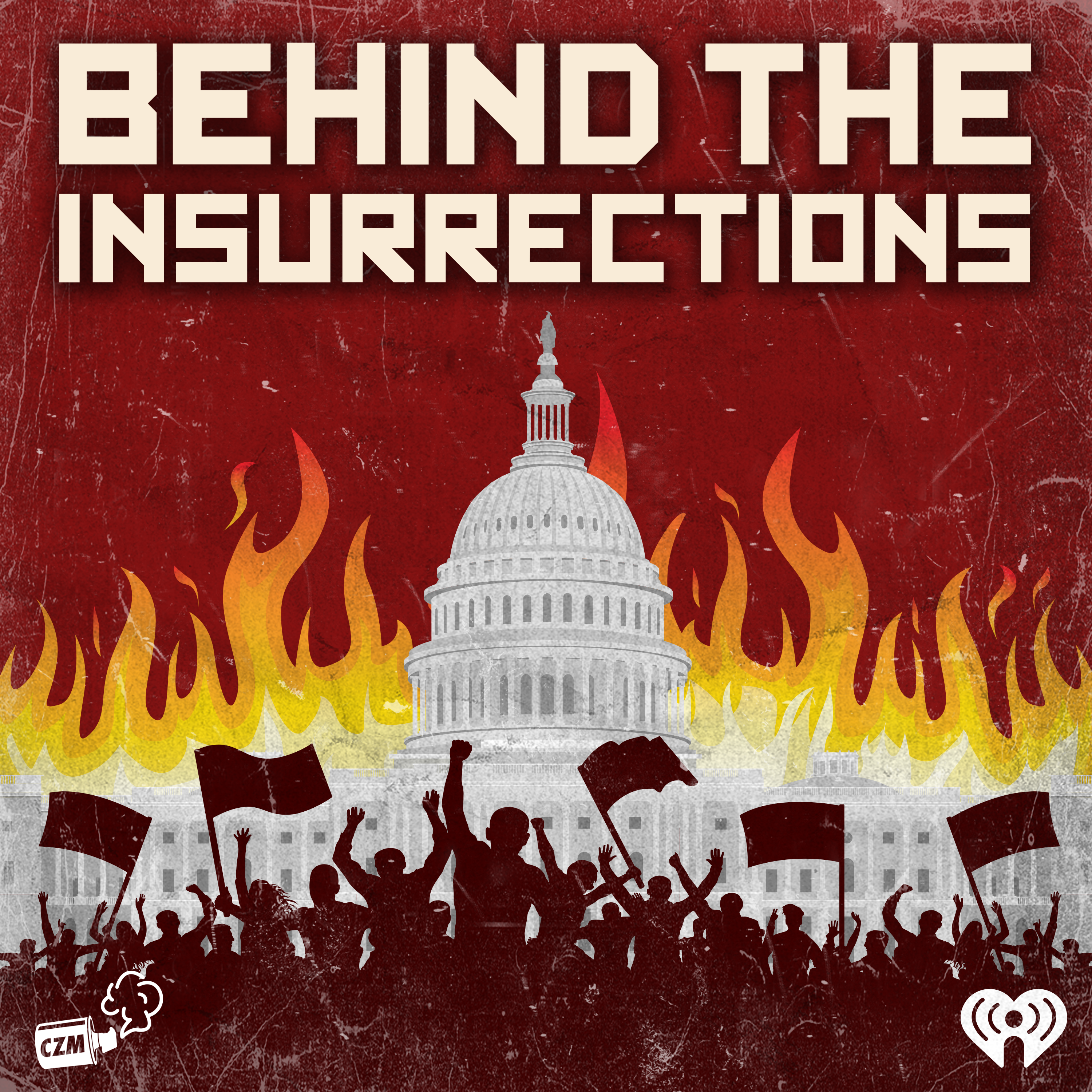 Behind the Insurrections Logo