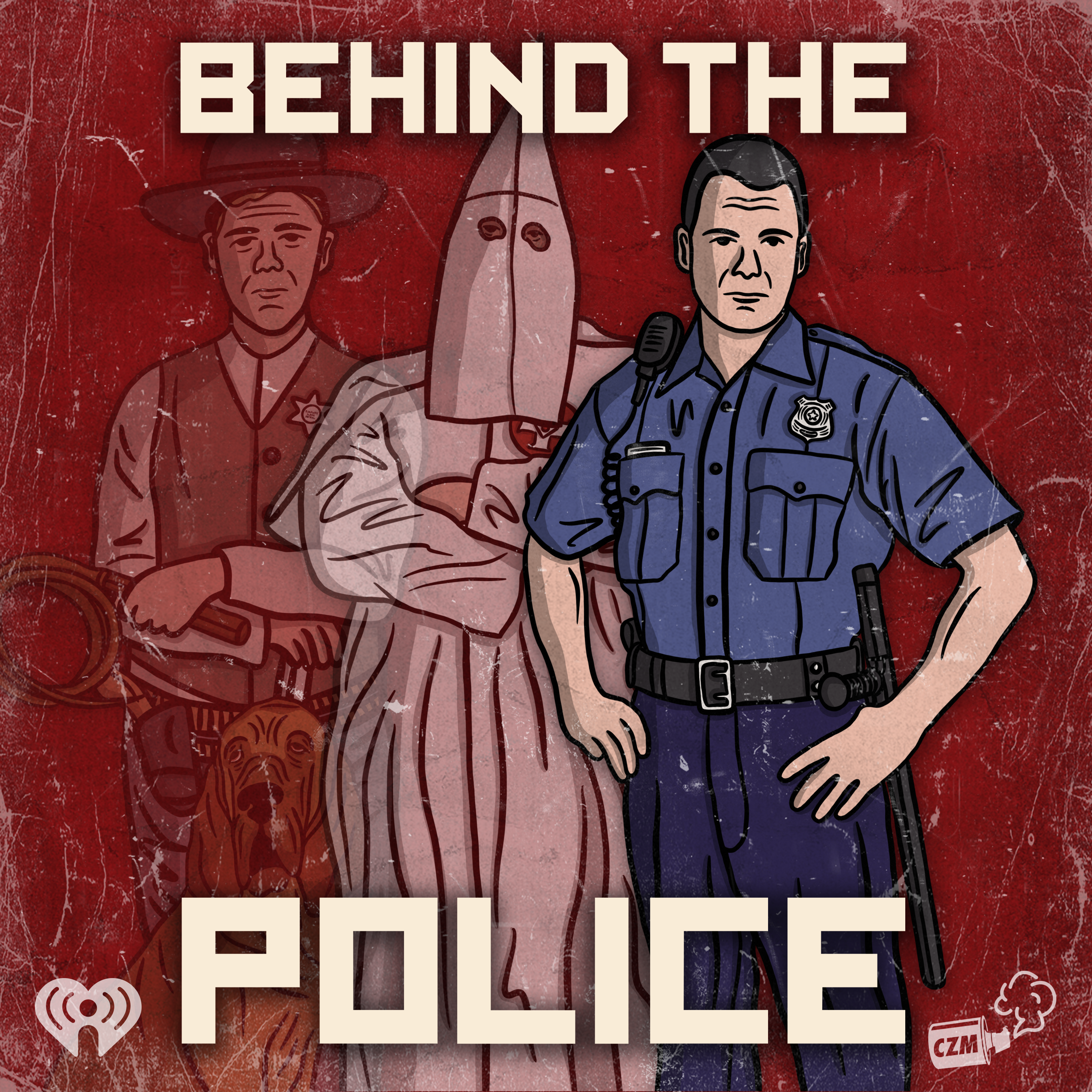 Behind the Police Logo