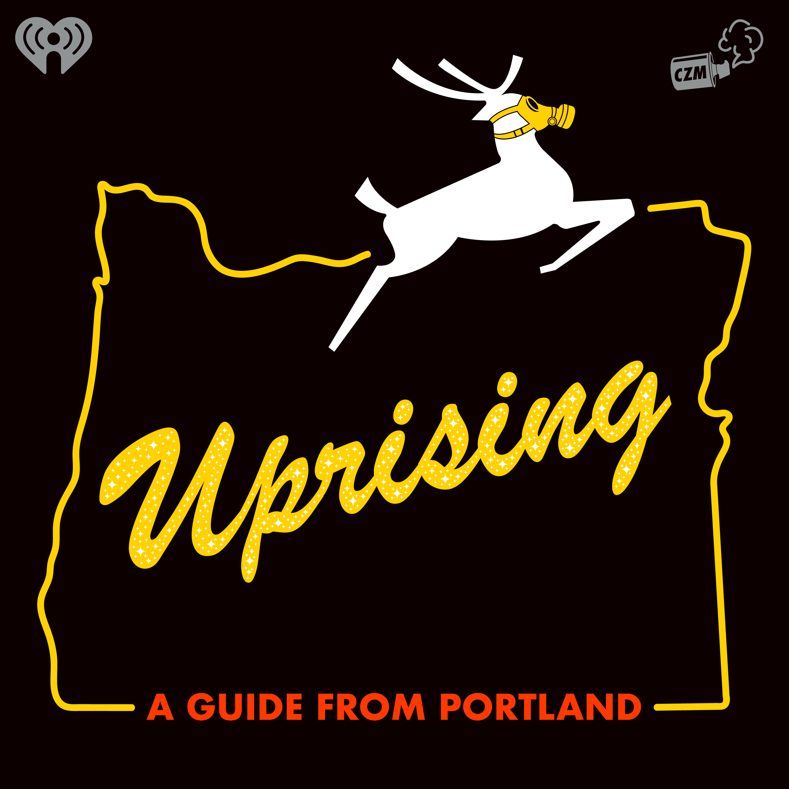 Uprising: A guide from Portland Logo